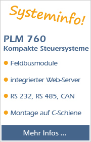 Systeminfo PLM 760